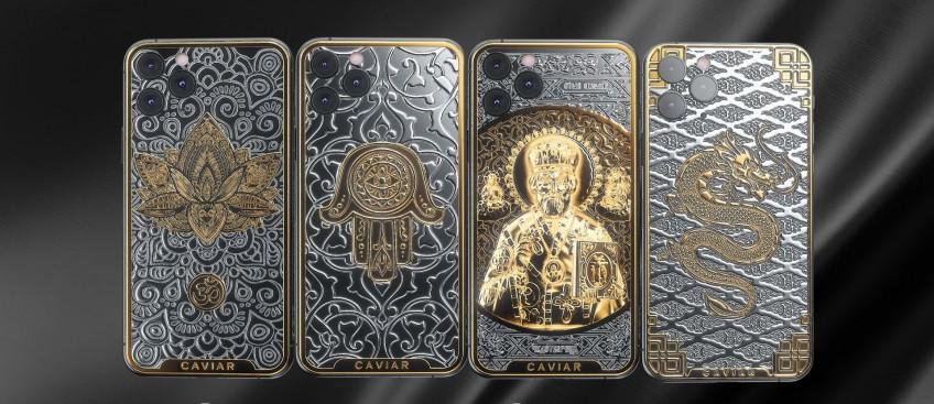 Caviar выпустила «антимикробные» смартфоны с серебряным покрытием