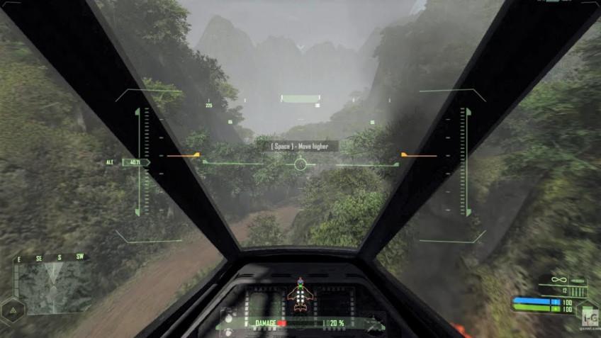Crytek вернула в ремастер Crysis для PC уровень на самолёте — на релизе его не было