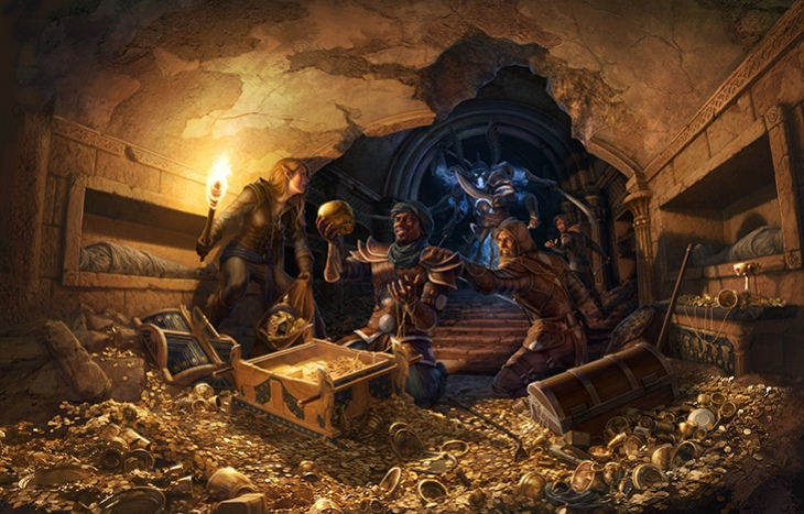 В The Elder Scrolls Online появится Гильдия воров