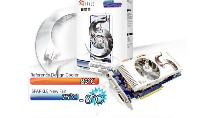 Sparkle модифицировала GeForce 8800 GT