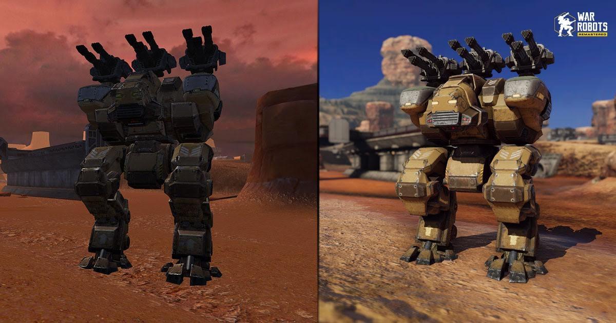 War Robots Remastered осенью выйдет на мобильных устройствах