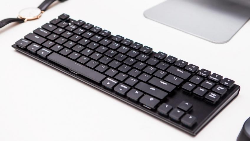 Keychron K1 — беспроводная механическая клавиатура для Mac