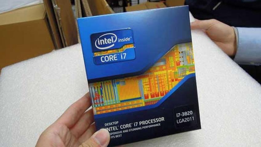 Intel начала продавать процессор Core i7-3820