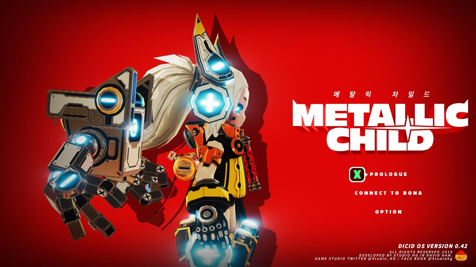 Новый трейлер Metallic Child посвящён схваткам с мощными боссами