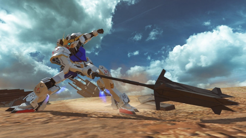 Открытое бета-тестирование Gundam Versus начнется в сентябре