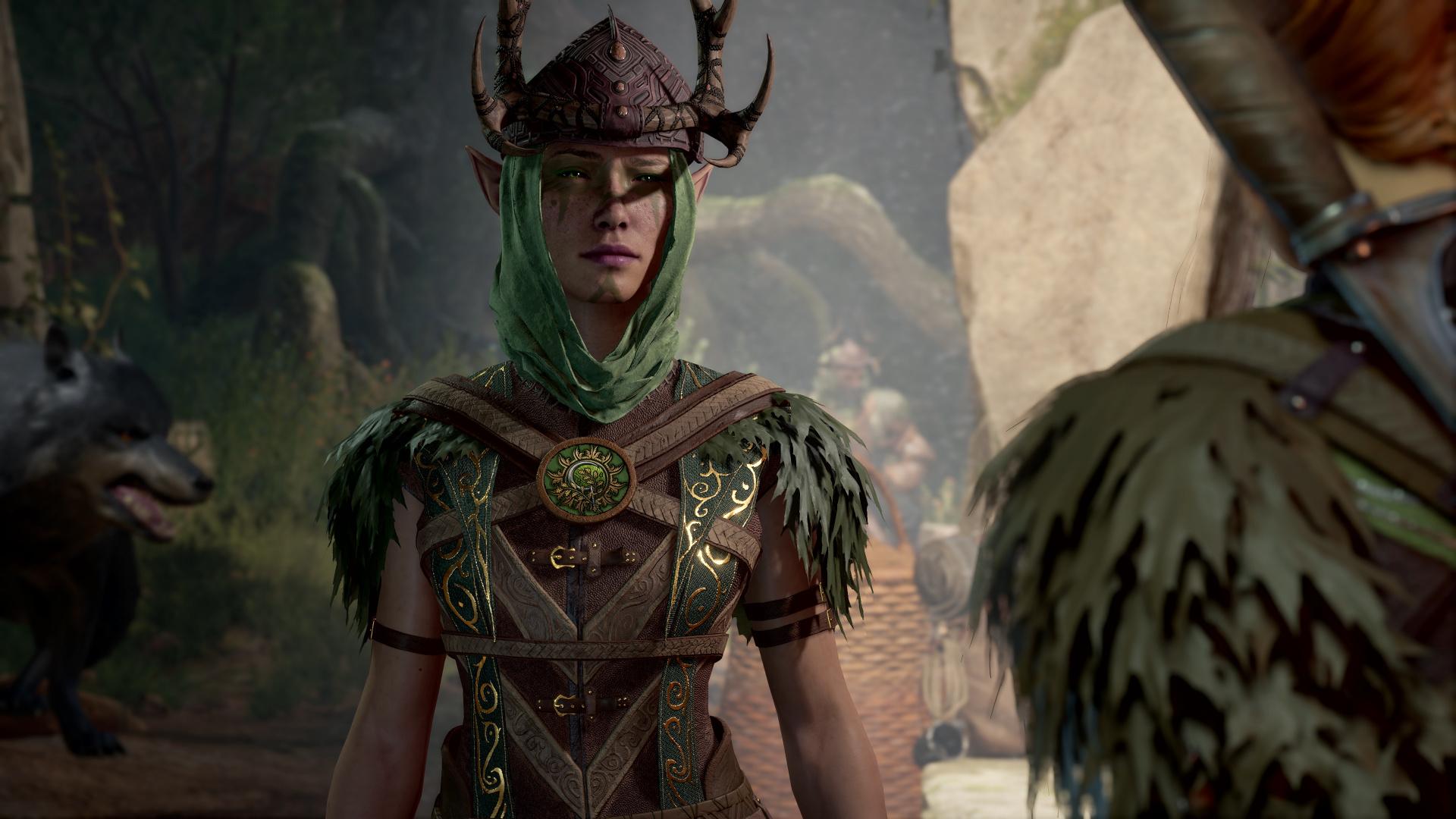 Друид, кости, синематики, анимации — главное с новой панели по Baldur's Gate III