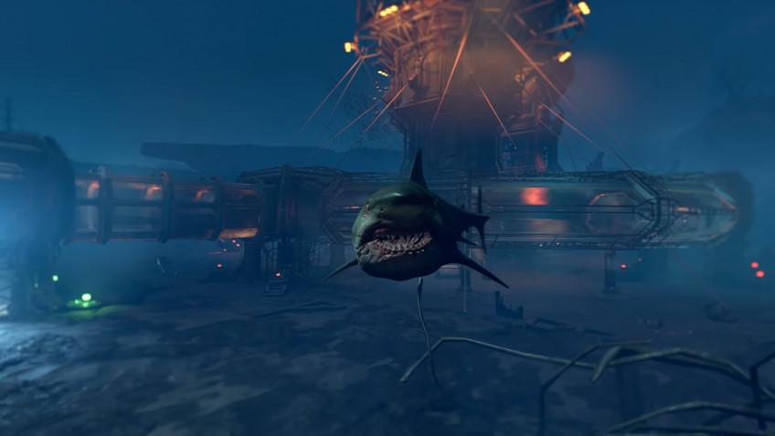Палач Рока против акулы: релизный трейлер DOOM Eternal: The Ancient Gods