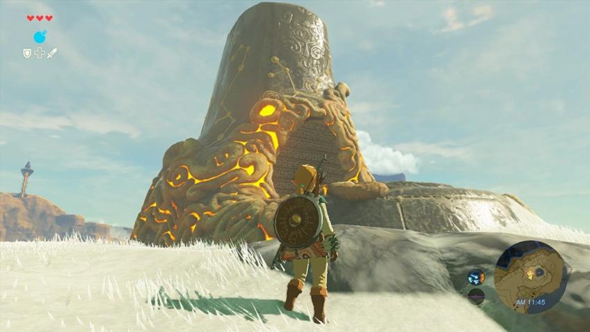Линк исследует мир на свежих скриншотах The Legend of Zelda: Breath of the Wild