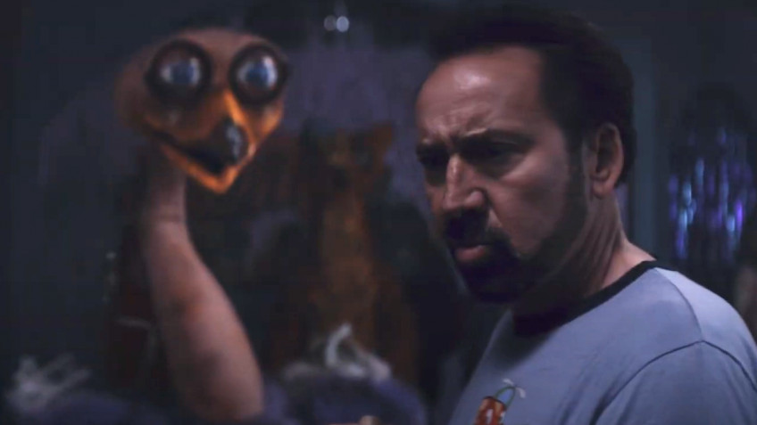 Николас Кейдж рубит роботов-зверей в трейлере «Страны чудес Вилли»