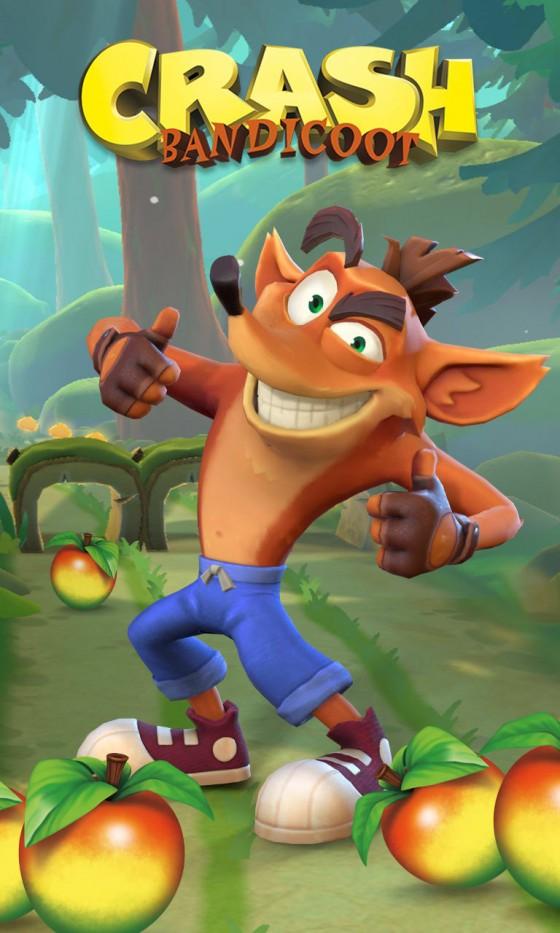В сеть утекли первые скриншоты и подробности Crash Bandicoot Mobile