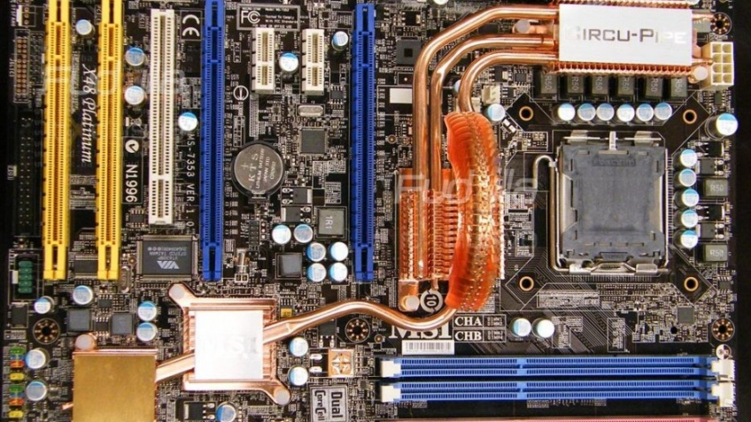 Первые фото Intel X48