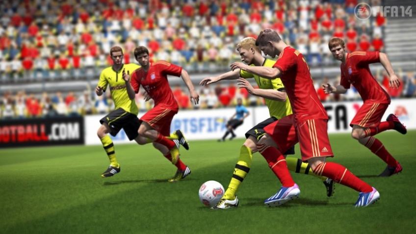 EA анонсировала FIFA14