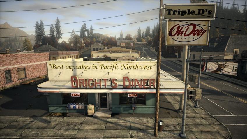 Энтузиаст воссоздала знаменитую забегаловку из Alan Wake на Unreal Engine4
