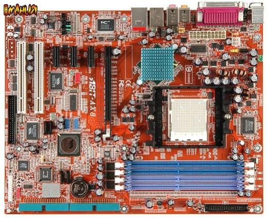 PCI-E в исполнении Abit