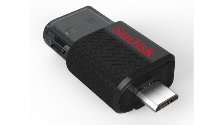 Флэшка SanDisk Ultra Dual USB Drive получила разъемы USB и micro-USB