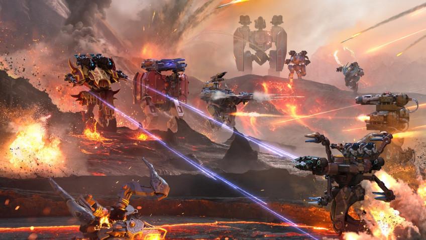 Для шутера War Robots выпустили масштабное обновление графики