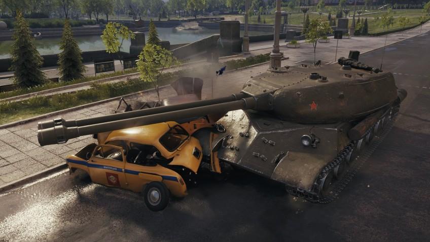 В World of Tanks пожалуют советские двухствольные танки