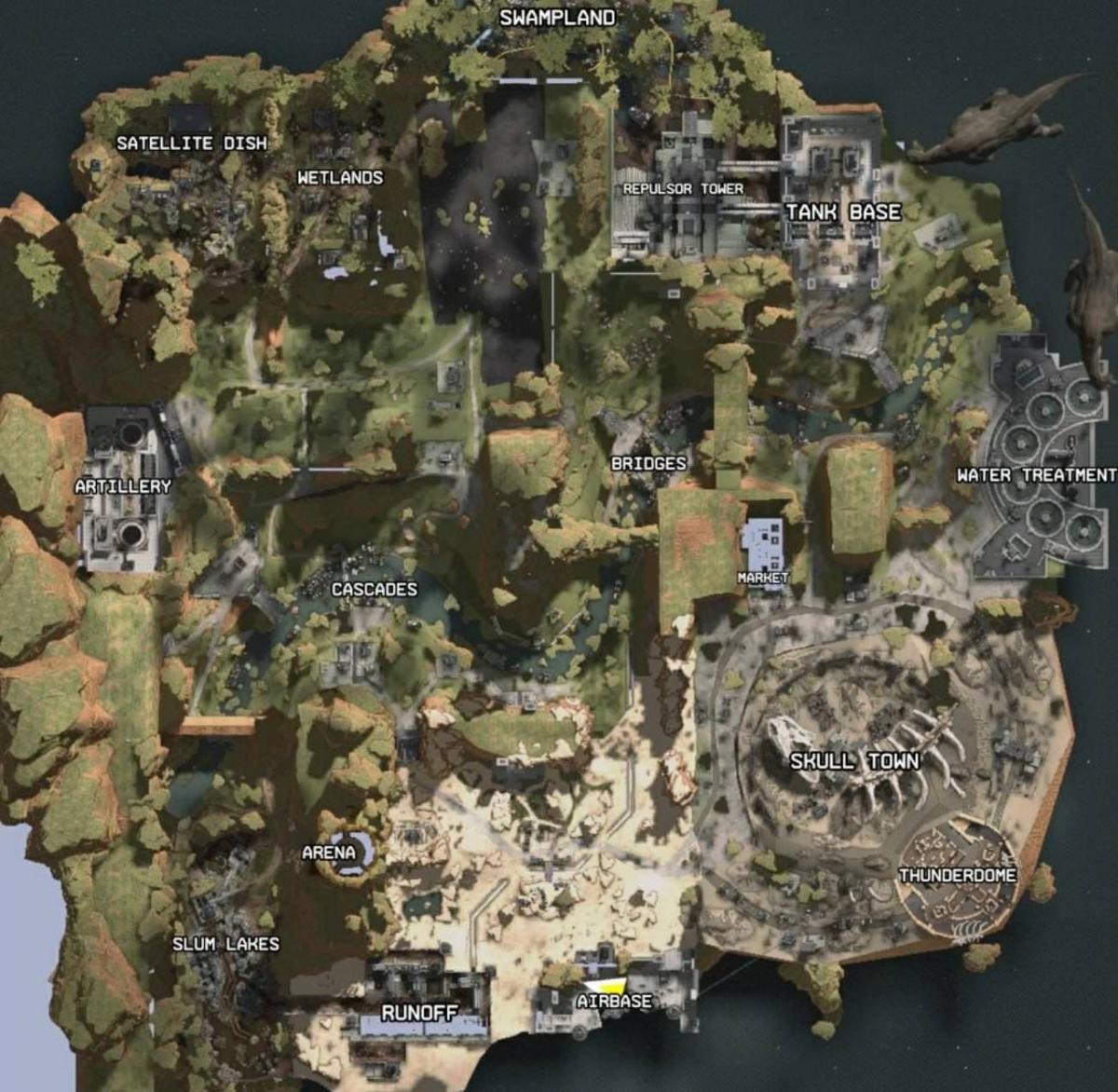 Пользователь Reddit слил карту Apex Legends год назад, но ему никто не поверил