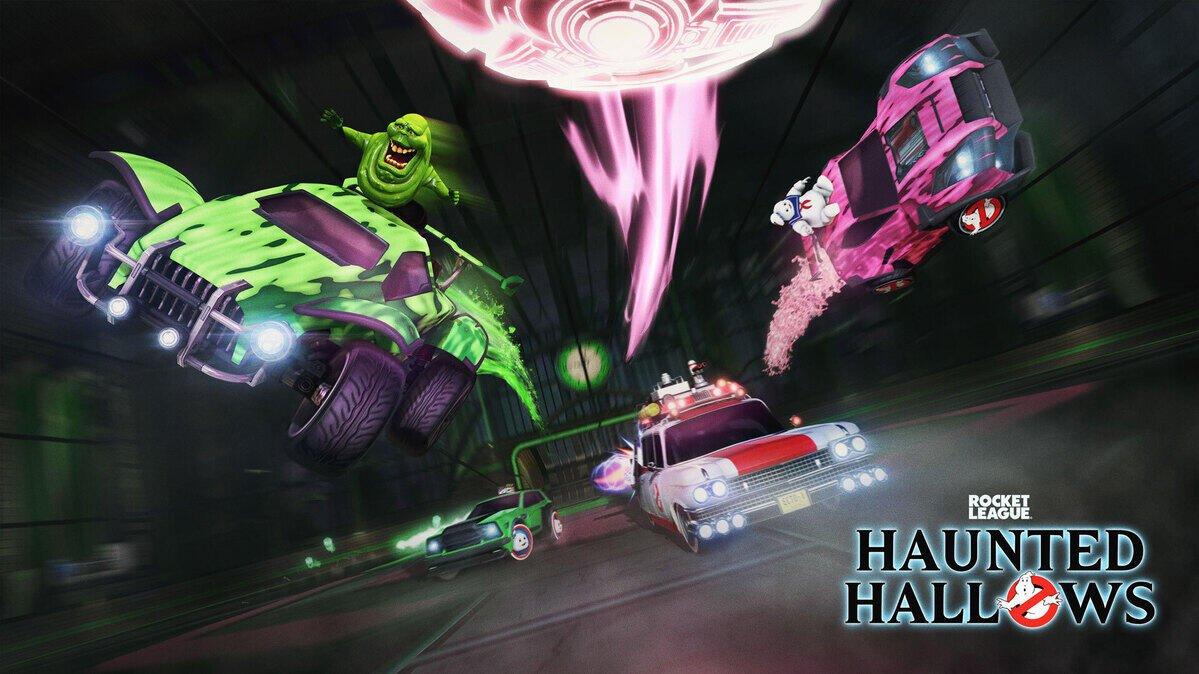 Завтра в Rocket League начнётся мероприятие в честь Хэллоуина