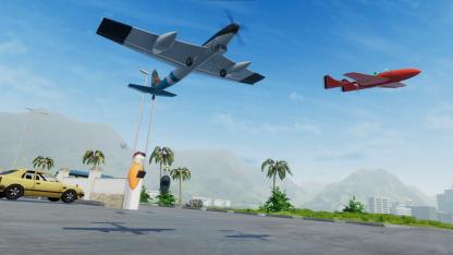 Началось открытое тестирование Balsa Model Flight Simulator