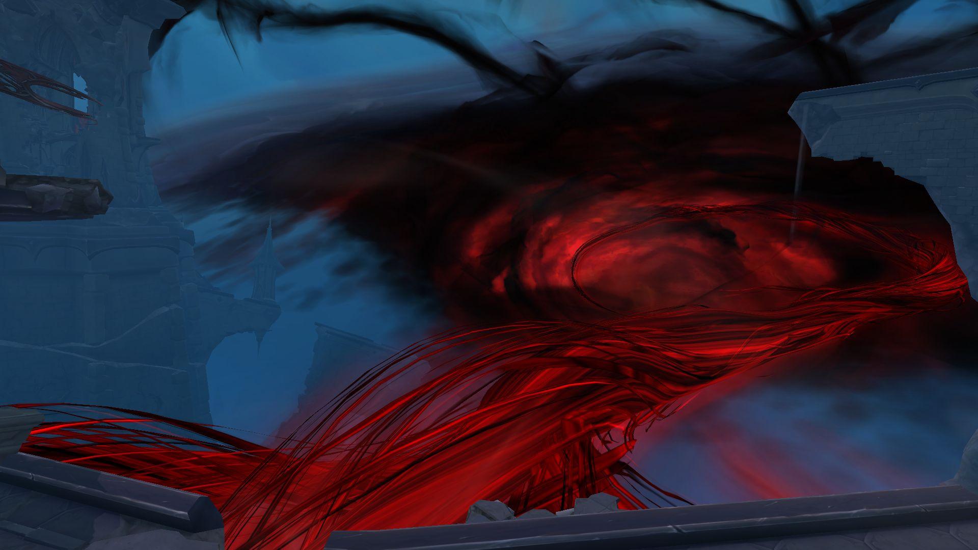 В WoW: Shadowlands рейдовый прогресс меняет небо над Ревендретом
