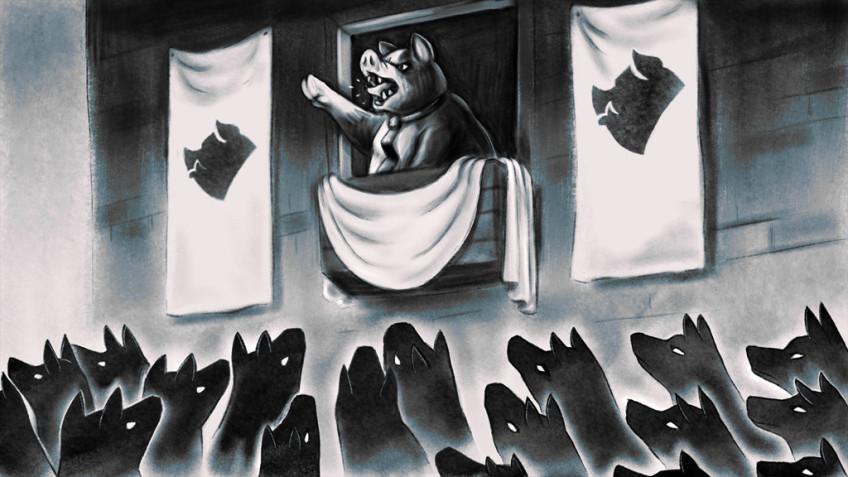 Вечные идеи в релизном трейлере Orwell's Animal Farm