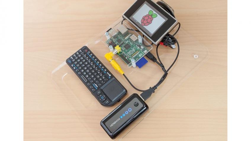 Портативный компьютер на базе Raspberry Pi