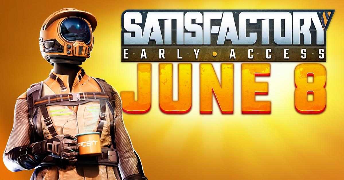 Создатели Satisfactory назвали, когда она появится в Steam — на этот раз точно