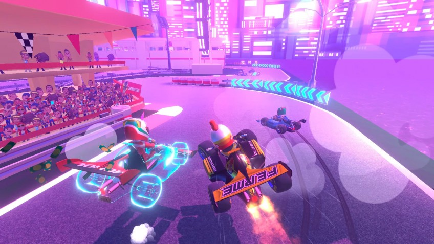 Ivanovich Games выпускает Touring Karts на PlayStation4