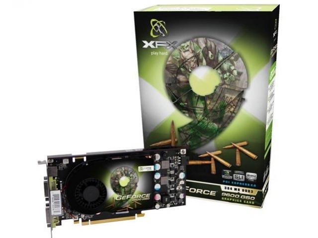 Первый GeForce 9600 GSO