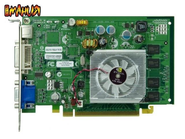 GeForce 8500 GT в деталях