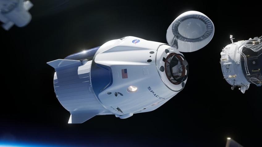 SpaceX запустила космический корабль Crew Dragon (Обновлено)