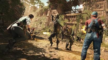 Авторы Strange Brigade показали дебютный геймплей