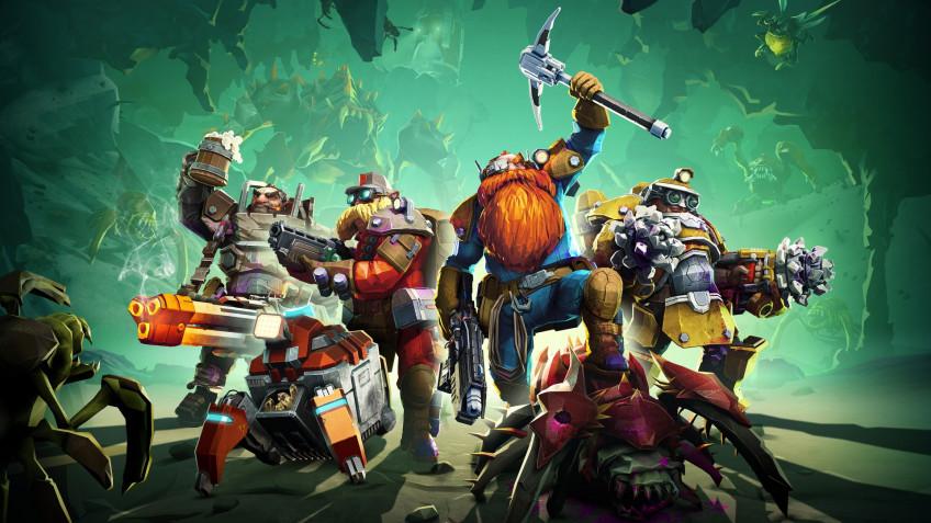 Авторы Deep Rock Galactic поделились ближайшими планами по развитию игры