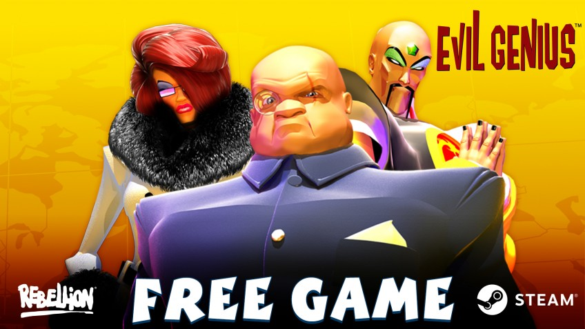 Rebellion бесплатно раздаёт Steam-версию Evil Genius