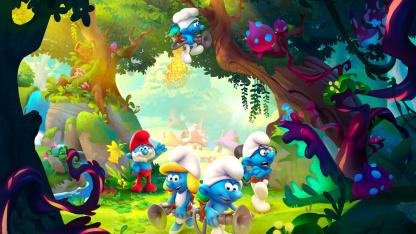 Вышел первый тизер-трейлер приключения The Smurfs: Mission Vileaf