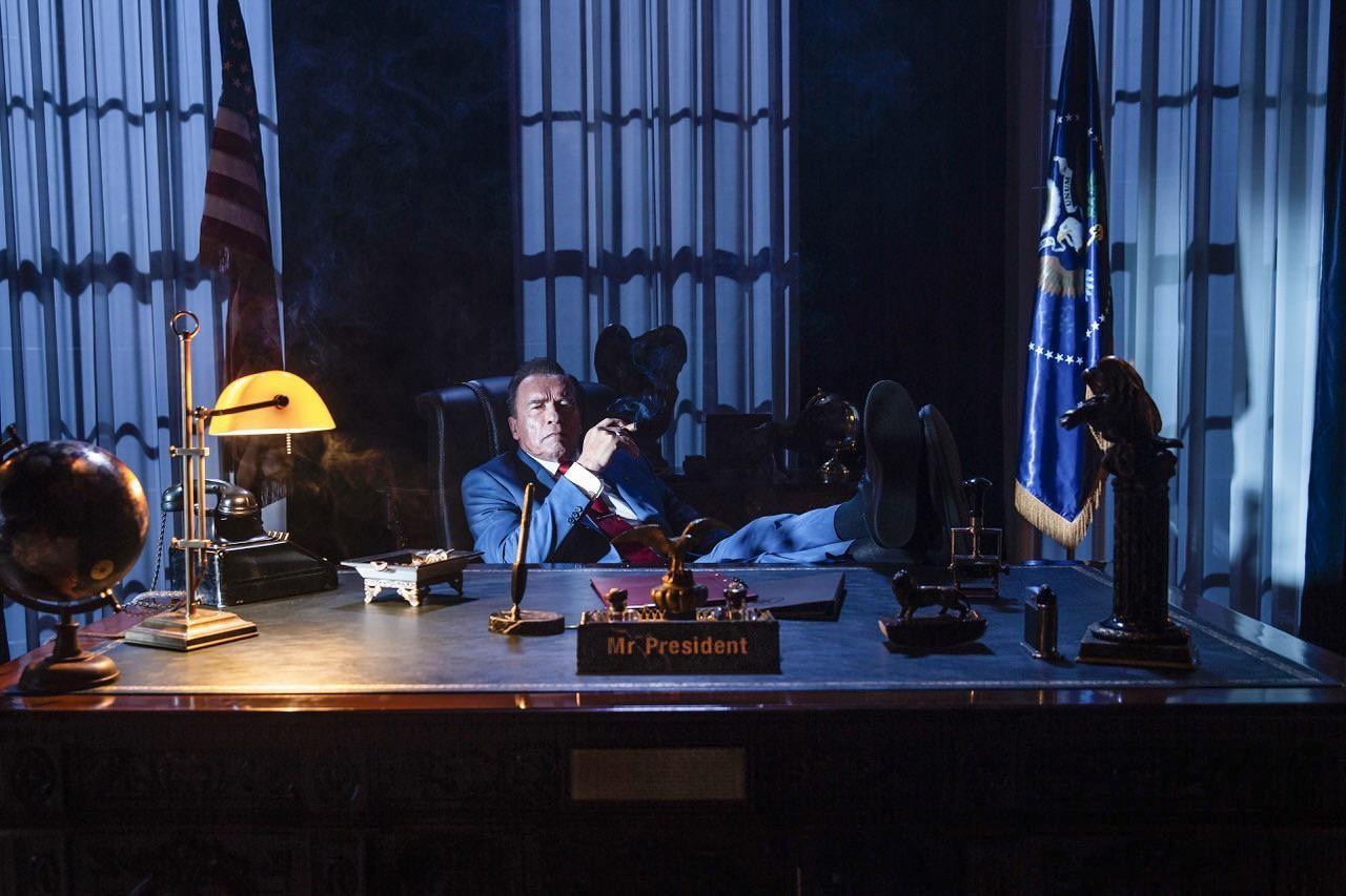 Первые кадры со съёмок «Кунг Фьюри 2» с Арнольдом Шварценеггером в роли президента США