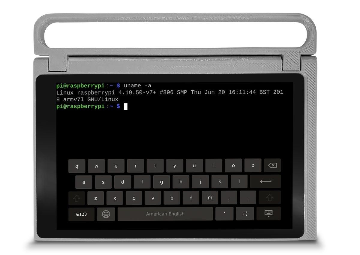 CutiePi — планшет с открытыми исходниками и ручкой для переноски