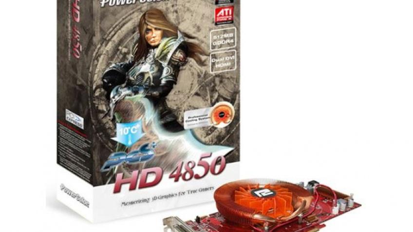 Первый Radeon HD 4850 с GDDR4