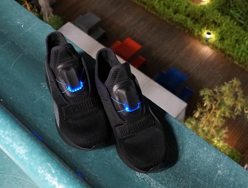 Puma представила свои кроссовки с автоматической шнуровкой ... 69fd9a39885
