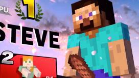В Super Smash Bros. Ultimate вырезали двусмысленное «мясо» Стива из Minecraft