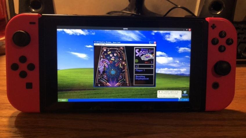 Энтузиаст запустил Windows XP на Nintendo Switch