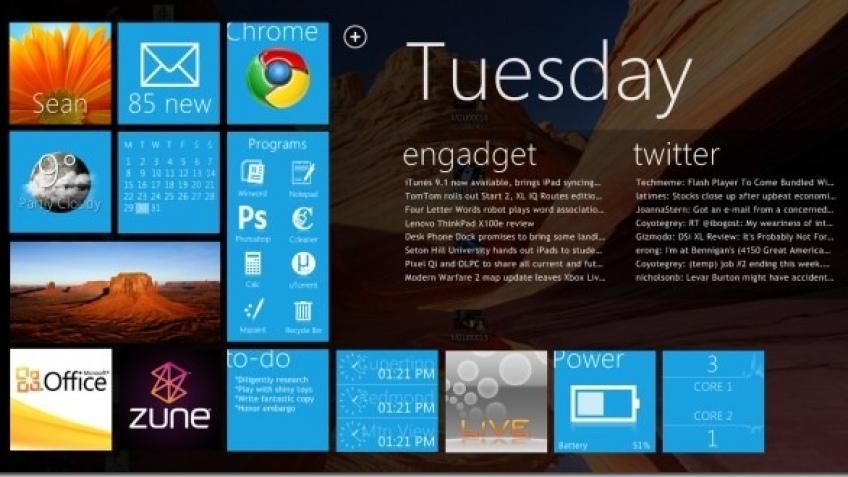 Windows8 может появиться в середине 2012 года