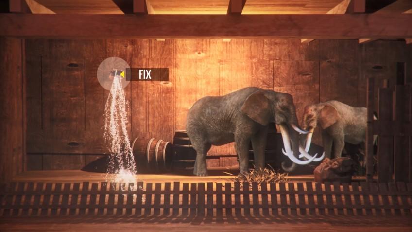 Noah's Ark предлагает построить Ноев ковчег и довести его до горы Арарат