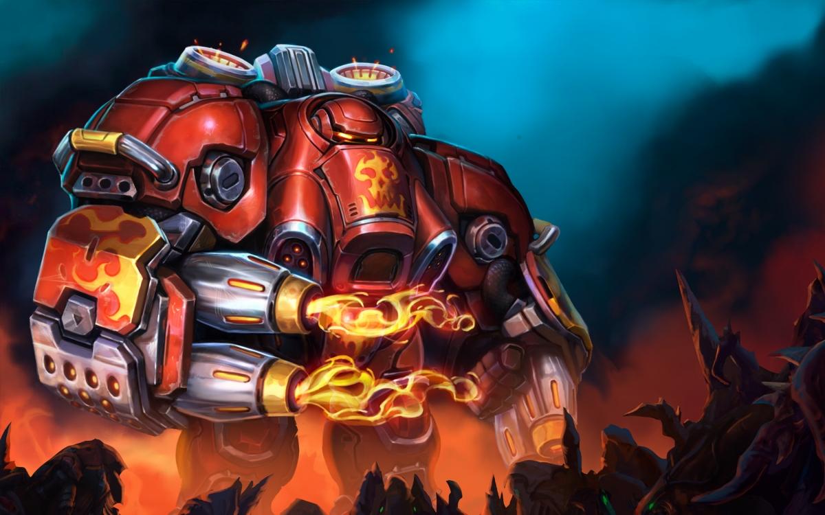 В Heroes of the Storm пришёл огнемётчик по прозвищу Блэйз