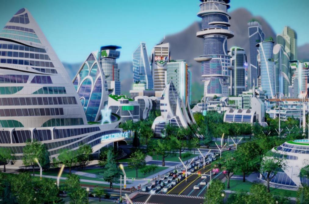 Дополнение для SimCity отправит игроков в будущее