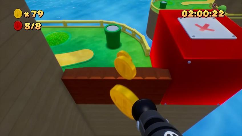 Энтузиаст превратил Super Mario Bros. в шутер от первого лица и показал геймплей