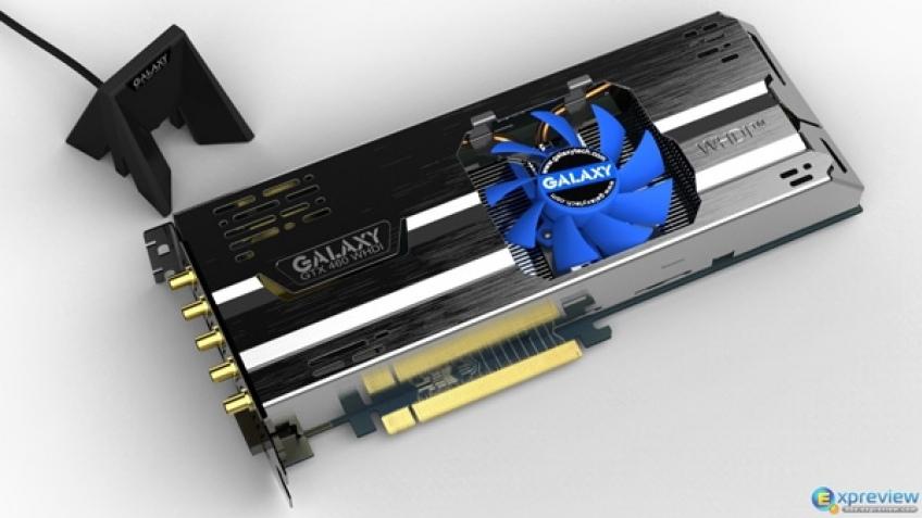 Видеокарта Galaxy будет поддерживать беспроводной интерфейс WHDI