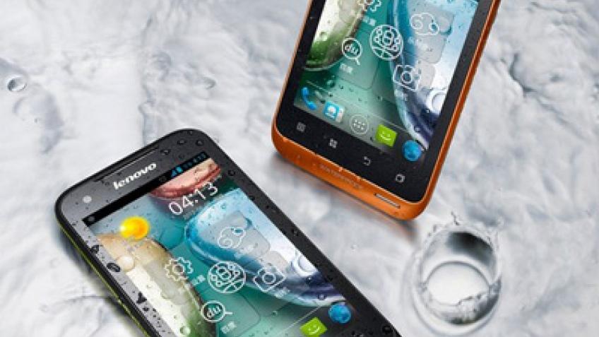 Lenovo A660: Android-двухсимник в защищенном корпусе