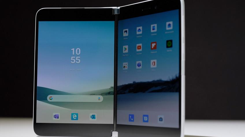 СМИ: Surface Duo выйдет раньше, чем Samsung Galaxy Fold2